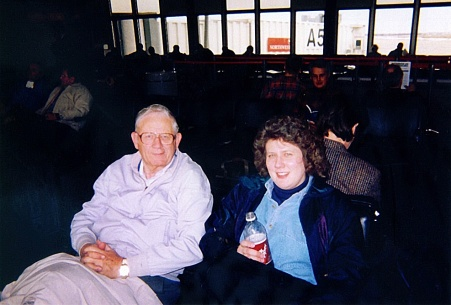 Daddy and me at airport 20511