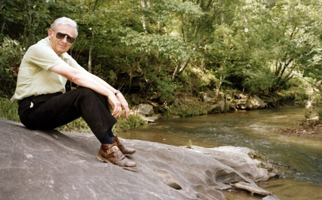 Daddy at Mill Creek